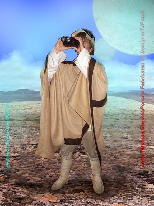 Tatooine Poncho by Designer TJP