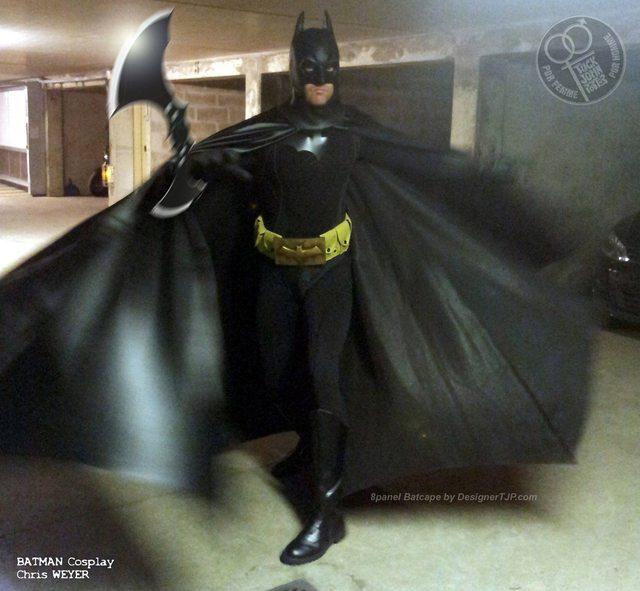 Bat Cape by Designer TJP