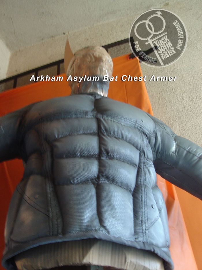 Arkham Asylum Chest Armor by Designer TJP