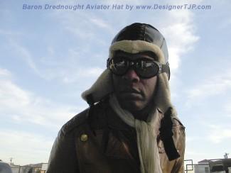 Baron Drednought Aviator Hat by Tuck John Porter